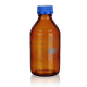 Reagent bottles with screw acc. to DIN- complete, marked SIMAX brown